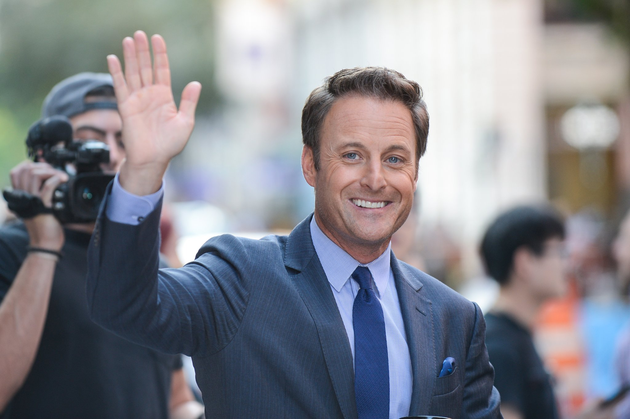 Chris Harrison is presently dating his girlfriend Lauren Zima.