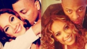 Erica Mena and her former partner, Rich Dollaz