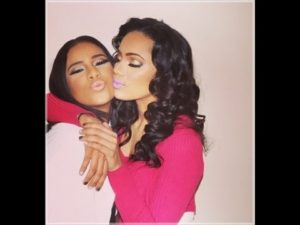 Erica Mena and her former female partner Trina