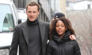 Former girlfriend and boyfriend, Nicole Beharie and Michael Fassbender