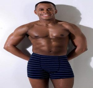 Andi Peters with Masculine body
