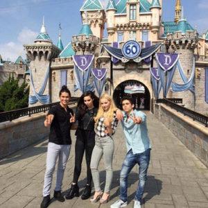 Cast of Disney's Descendants Attend Fan Event at Disneyland
