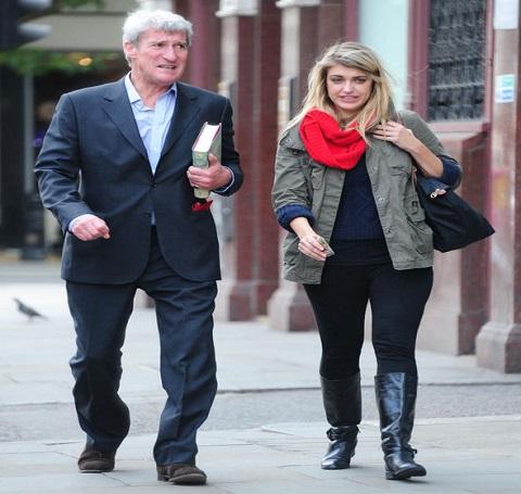 Jeremy Paxman & Elizabeth Clough
