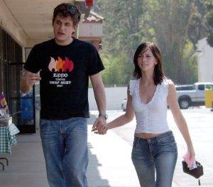 Jennifer Hewitt and John Mayer