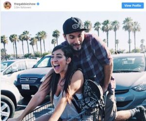 Gabbie Hanna and her vlogging partner, Zane Haji