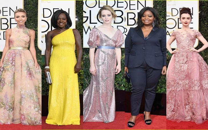 Social Shares 5 Best dressed Celebrities of 2017