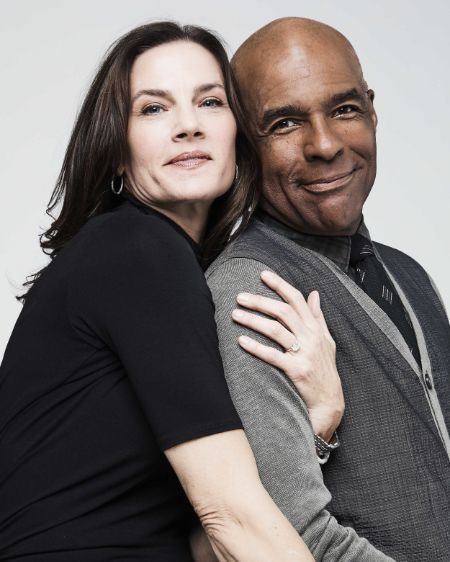 Michael Dorn was rumored to be in a relationship with Terry Farrell