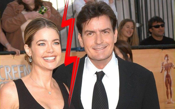 Donna Peele divorced Charlie Sheen