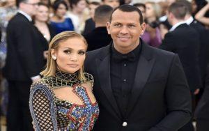 Jennifer Lopez and Alex Rodriguez met gala 2018