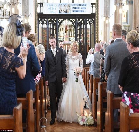 Laura Kenny and Jason Kenny wedding