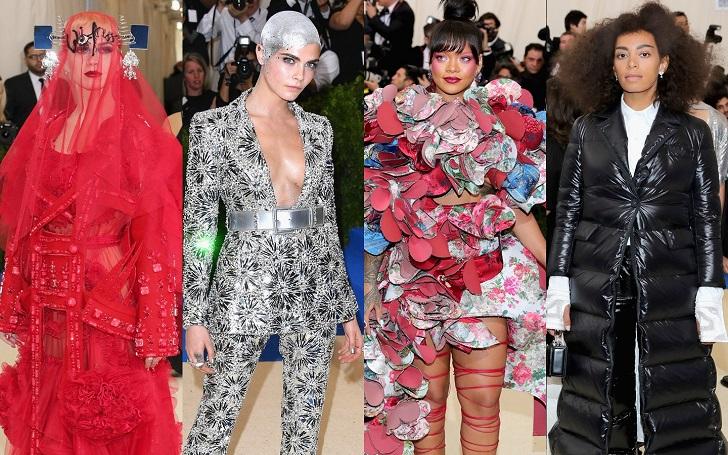 Top Best Dressed Celebrities in Met Gala 2017 from Rihanna to Gigi Hadid!