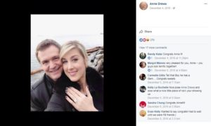 Anne Drewa and her boyfriend turned fiance