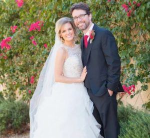 Chelsey Crisp and her husband Rhett Reese