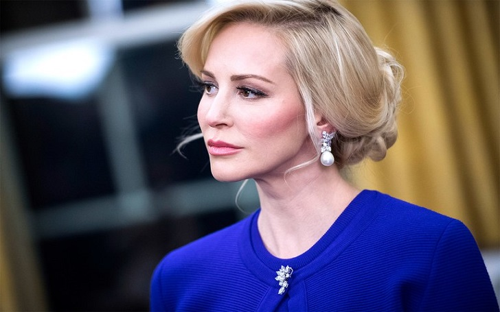 Louise Linton married, fiance, husband, wedding