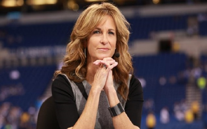 ESPN Football sideline reporter Suzy Kolber is married and has a child? Find out if this is true. Also more about her salary, contract, and net worth!