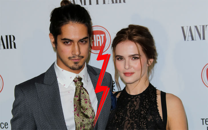 Avan Jogia split with Zoey Deutch; A look at previous dating affairs and girlfriends including bio. Gay rumors!