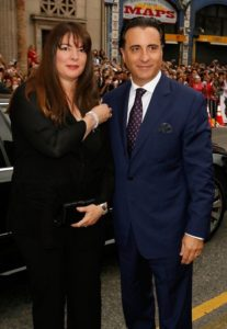 a31fe364fa91 Andy Garcia and his wife Marivi Lorido pictured together at an event