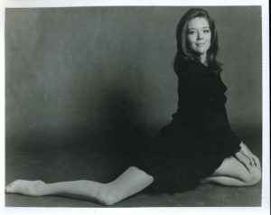 Diana Rigg's young age photo