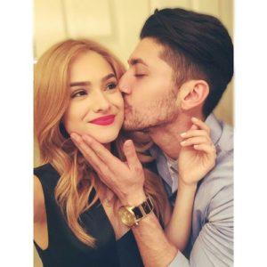 Josh wishing Happy 3rd anniversary to his girlfriend Chachi on Instagram