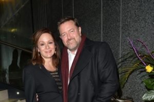 Diana Rigg's daughter Rachael Stirling with her husband Garvey