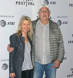 Chevy Chase and Jayni Chase attend the 'Dog years' screening during 2017