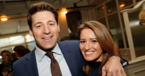 Katy Tur and Tony Dokoupil