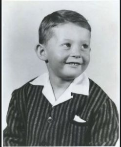 Chevy Chase's young age photo
