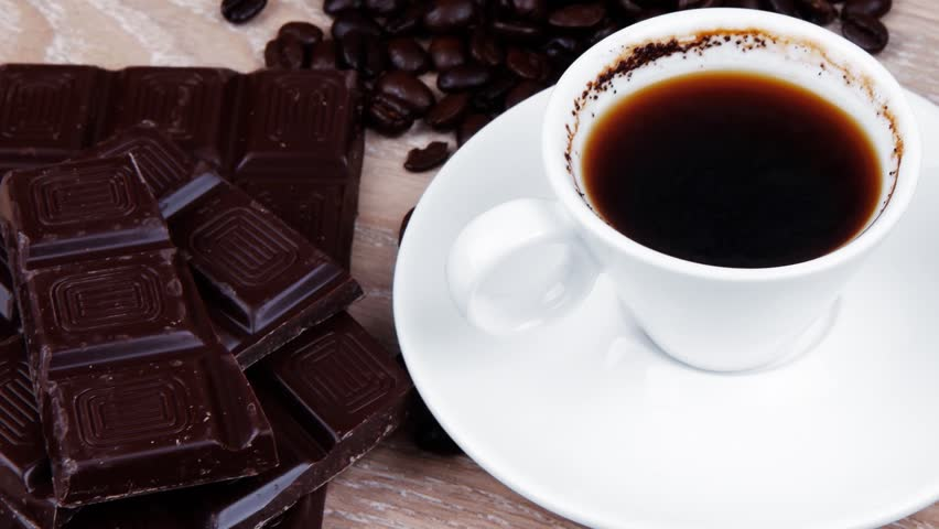 Dark Chocolate and Coffee. Learn about the effects of caffeine.