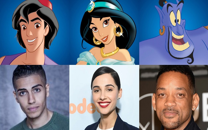 Disney Cast Newcomers of Aladdin