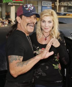 Danny Trejo with his ex-wife Debbie Shreve