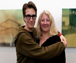 Rachel Maddow happy with partner Susan Mikula in their 19 years of relationship