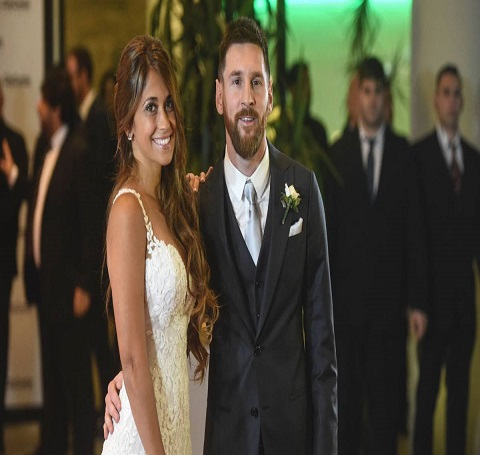 Lionel Messi's Wedding day