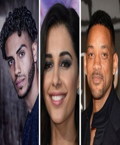 Will Smith, Naomi Scott and Mena Massoud to cast in Aladdin.