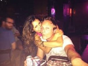 Nina Dobrev with her rumored beau David Anders