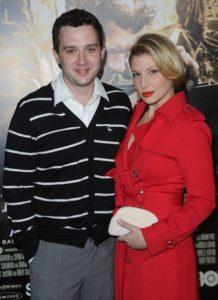 Ari Graynor and her ex-boyfriend Eddie Kaye
