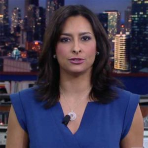 Lourdes Duarte appearing in the WGN-TV as a news anchor.