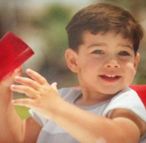 Ryan Paevey childhood photo