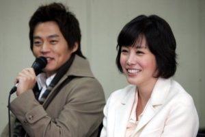 Seo Jin and his ex-girlfriend Jung Eun