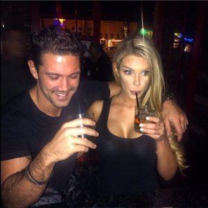 Ryan Paevey with his rumored girlfriend, Jesse Hinton