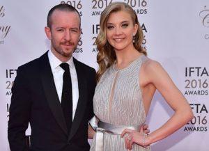 Actress Natalie Dormer and her partner Anthony Byrne