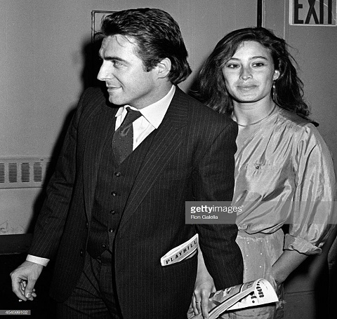 Armand Assante and his wife
