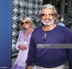 Bo Derek was enjoying with his ex-husband John Derek.