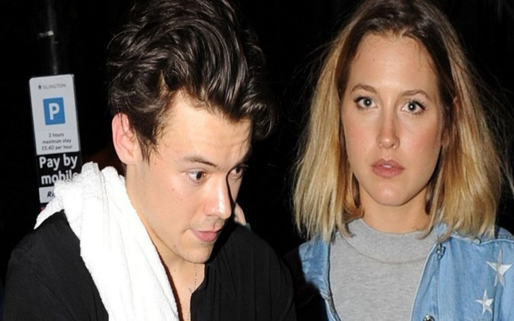 Harry Styles and Tess Ward
