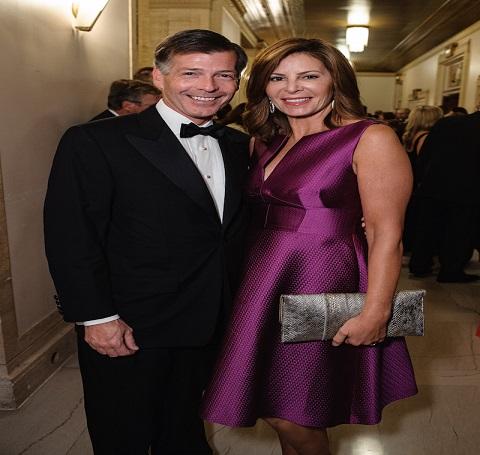 Kathy Brock and her husband