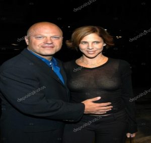 Michael Chiklis with his wife