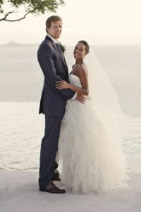 Dirk Nowitzki and his spouse Jessica Olsson
