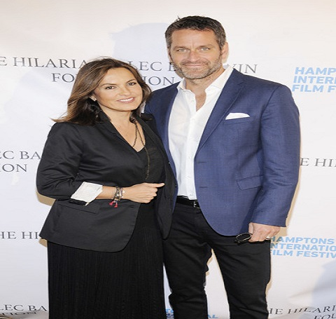 Mariska Hargitay with her husband Peter Hermann
