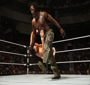 Ron Killings in a match