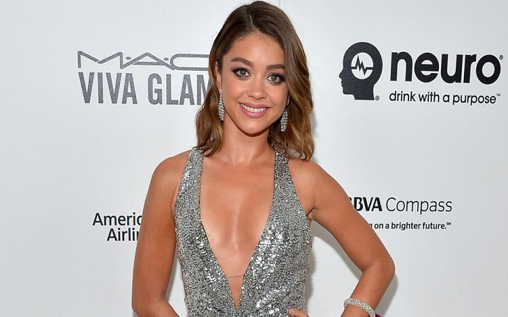 Sarah Hyland is quite unaffected after her break up with her ex boyfriend Dominic Sherwood