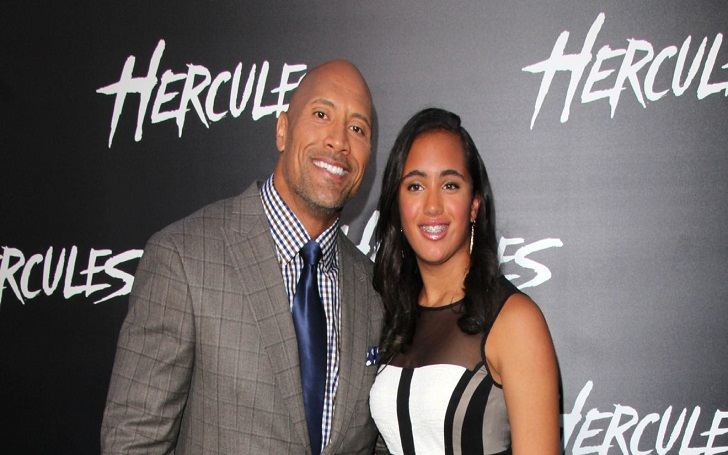 Simone Alexandra Johnson & Dwayne Johnson